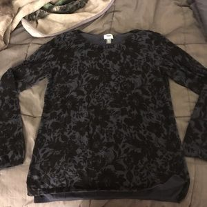 🍁 3 for $20! Old Navy Lightweight Floral Sweater